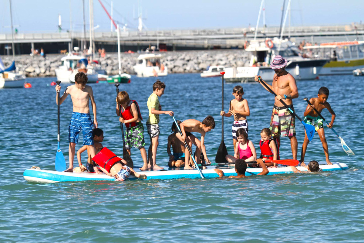 Stand Up Paddle curso para niños